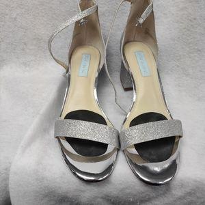Women's Blue by Betsey Johnson heels size 9